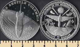 Marshall Islands 5 Dollars 1991 - Marshall Islands