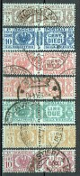 Italien 1927-32 Paketmarken Sassone 24-26, 29, 31, 32, 34 Gestempelt - 1900-44 Victor Emmanuel III.