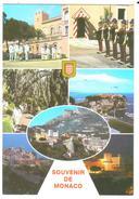 Carte Postale Année 90 Souvenir De Monaco (Monaco) Multi-vues - Monaco