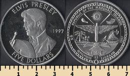 Marshall Islands 5 Dollars 1997 - Islas Marshall