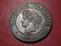 5 Centimes Cérès 1872 A Paris 5333 - Francia