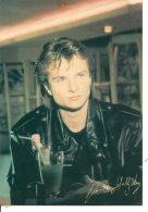L20d039 -  David Hallyday  -  Editions RRV - Artistes