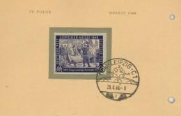 Deutschland Germany Leipzig Messe 1948 Handel  Zuzug Auswärtiger Tuchmacher Textil - Sowjetische Zone (SBZ)