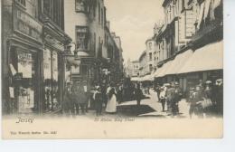 ROYAUME UNI - JERSEY - ST HELIER - King Street - Jersey