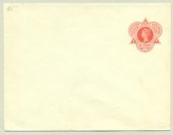 Suriname - 1905 - 5 Cent Envelop Wilhelmina In Driehoek, G1 Ongebruikt - Suriname ... - 1975