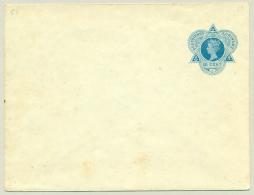 Suriname - 1905 - 12,5 Cent Envelop Wilhelmina In Driehoek, G3 Ongebruikt - Suriname ... - 1975