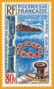 Polynésie **LUXE 1965 Pa 15 - Posta Aerea