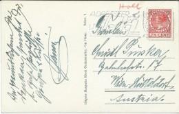 Netherlands Scheveningen 1937 - Perfin-Perforé-Perfins-Perforés Stamp - Periode 1891-1948 (Wilhelmina)