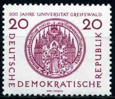 DDR - Michel 543 - ** Postfrisch (A) - 20Pf  500 Jahre Universität Greifswald - [6] République Démocratique