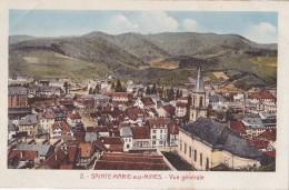 SAINTE MARIE AUX MINES VUE GENERALE - Sainte-Marie-aux-Mines