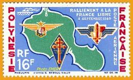 Polynésie **LUXE 1964 Pa 8 - Posta Aerea