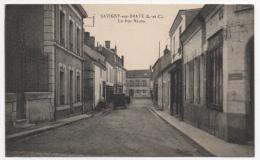 41 LOIR ET CHER - SAVIGNY SUR BRAYE La Rue Neuve - Vendome