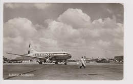 Rppc KLM K.L.M Royal Dutch Airlines Convair En Lockheed Constellation Aircraft @ Schiphol Airport - 1919-1938: Fra Le Due Guerre