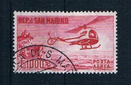 San Marino 1961 Hubschrauber Mi.Nr. 696 Gest. - Gebraucht