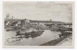 45 LOIRET - ORLEANS En 1944, Le Pont Royal - Orleans