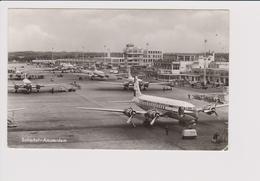 Rppc KLM K.L.M Royal Dutch Airlines Douglas Dc-6 & Lockheed Constellation Aircraft @ Schiphol Airport - 1919-1938: Fra Le Due Guerre