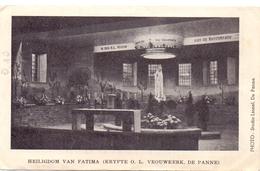 Devotie Devotion - Heiligdom Onze Lieve Vrouw Fatima De Panne - 1948 - Images Religieuses