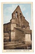 CPSM 33 LUGAIGNAC Pres Branne  L'église - France