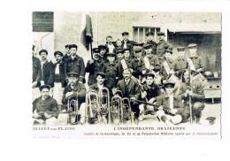 Reproduction - 21 - BRAZEY EN PLAINE Gymnastique TIR Préparation Militaire Enfants Musique Fanfare Trompette - Autres Communes