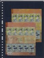 Belgie - Belgique  4520/21 Velletje Van 5 Postfris - Feuillet De 5 Timbres Neufs  - K. Elisabeth 50 Jaar Overlijden - Feuilles Complètes