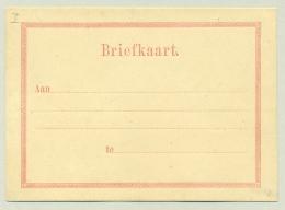 Suriname - 1877 - Rood Briefkaartformulier, GI - Suriname ... - 1975