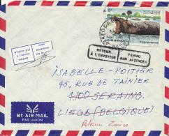 CONGO KINSHASA ZAIRE LETTRE REBUT - Zaire