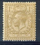 UK Giorgio V 1912-22 . N. 152 S. 1 Bistro  MNG Catalogo € 50 - Unclassified