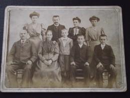 FAMILLE Début XXe - 20 Août 1906 - Photo Authentique - A Voir ! - Identified Persons