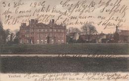 Royaume-Uni - Yoxford - Cocfield Hall - Postmarked 1906 - Angleterre
