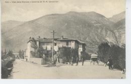 ITALIE - OULX - Viale Della Stazione E Caserma Dei R.R. Carabinieri - Andere Steden