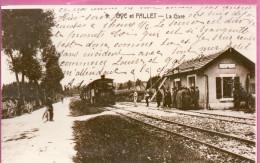 Oye Et Pallet - La Gare -  Photo Reprocuction F 152 X 90 Mm - Autres Communes