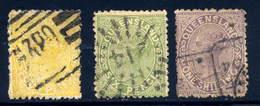 Queensland 68-70 Used  Partial Set  1882 - 1860-1909 Queensland