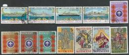 St Vincent  1974   3 Sets Used  2016 Scott Value $4.75 - St.Vincent (...-1979)