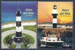 2009 PEROU 1779-80** Phares - Peru