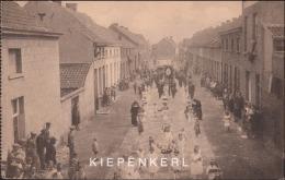 KERKEVELD DEURNE 1927 EERSTE PROCESSIE OLV V. GEDURIGEN BIJSTAND 15/8/1226 DE ENGELTJES - Antwerpen