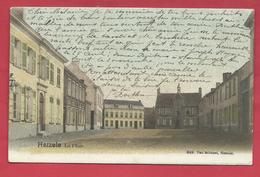Herzele - De Plaat  - 1903 ( Verso Zien ) - Herzele