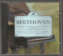 CD PIANO - BEETHOVEN : CONCERTOS N° 5 - SONATE N° 17 - SILVIA CAPOVA, Piano - Klassik