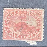 MICHEL NUM 12 - COTE 16 EURO - EN L'ETAT - 1851-1902 Règne De Victoria