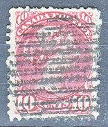 MICHEL NUM 31aA - D = 12 - COTE 45 EURO - EN L'ETAT - 1851-1902 Règne De Victoria