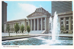 COLOUR PICTURE POST CARD PRINTED IN U.S.A., AMERICA - WAR MEMORIAL BUILDING - WAR, TOURISM THEME - Postcards