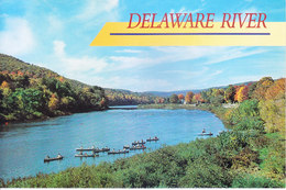 COLOUR PICTURE POST CARD PRINTED IN U.S.A., AMERICA - DELAWARE RIVER - NATURE, TOURISM THEME - Postcards