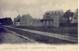 Hoesselt Hoeselt De Markt 1907 (met Kiosk) - Hoeselt
