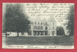 Herzele - Kasteel / Château - 1905 ( Verso Zien ) - Herzele