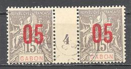 Gabon: Yvert 68°; Millésime 4 - Gabon (1886-1936)