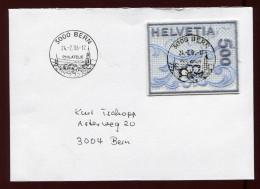 Schweiz  2000,  Stickereimarke - Lettres & Documents