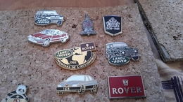 8 PINS VOITURES   AUSTIN ROVER - Pin's & Anstecknadeln