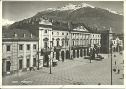 Aosta (Valle D'Aosta) Palazzo Municipale, Municipio, Hotel De Ville, Town-Hall - Aosta