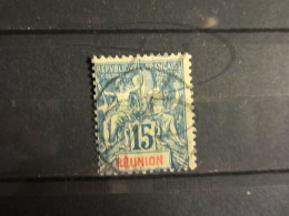 BEAU TIMBRE DE LA REUNION N° 37 !!! - Réunion (1852-1975)