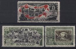 Russia 1945 Unif. 1006/08 */MH VF/F - Nuovi