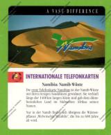 "NAMIBIA: NMB-07 ""Dunes"" Reverse A (R 10) Unused"